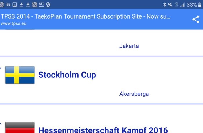 Stockholm Cup 26 nov