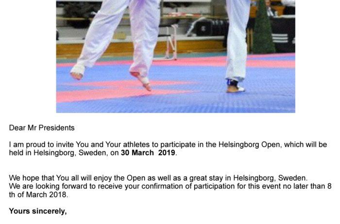 Helsingborg Open 30 mars