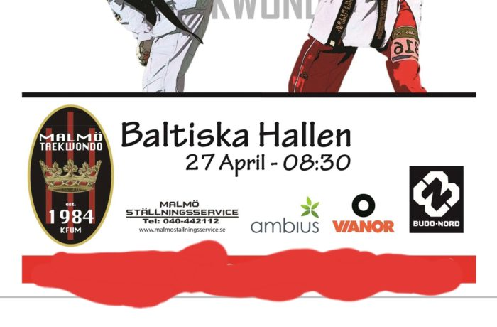 Malmö Open 27 april 2019