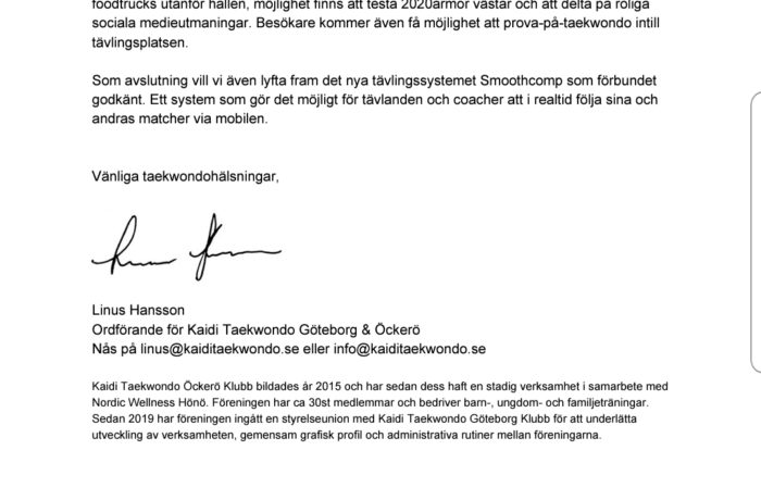 Svenska Cupen 1. 21 sept